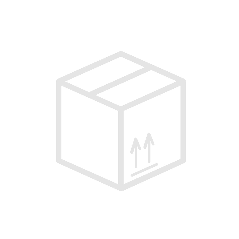 Suora muunnosnippa G-Uk / JIC-Uk Ruostumaton