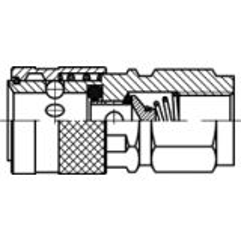 Tema 1100-sarja, paineilmapikaliitin, runko